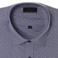 엘르옴므 위사스트라이프프린트 세미와이드 레귤러 긴소매셔츠 E174R-94090