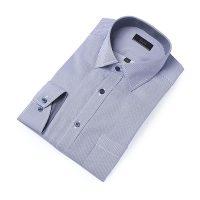 엘르옴므 핀스트라이프세미와이드 레귤러 긴소매셔츠 E174R-94112