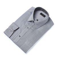 엘르옴므 핀스트라이프세미와이드 레귤러 긴소매셔츠 E174R-94119