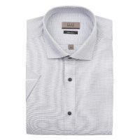 엘르옴므 위사스트라이프 세미와이드 슬림 반소매셔츠 E183S-22829