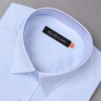 엘르옴므 올오버도비 세미와이드 레귤러 긴소매셔츠 EAGMR-73302