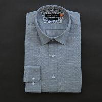 엘르옴므 프린트슬럽 세미와이드 슬림 긴소매셔츠 EAGMS-73132