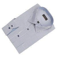 [엘르옴므] 스트라이프 세미와이드 레귤러 긴소매셔츠 E181R-22172
